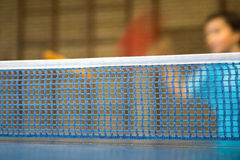 Table with net for table tennis Royalty Free Stock Photos