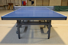 Table with net for table tennis Stock Images