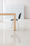 Table and office chair Stock Image