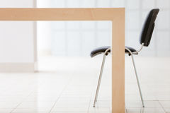 Table and office chair Royalty Free Stock Photography