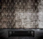 Table in old room Royalty Free Stock Images