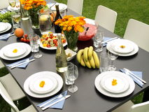 Table for party Stock Images