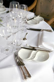 Table for party Royalty Free Stock Photography