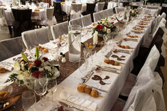 Table party Royalty Free Stock Images