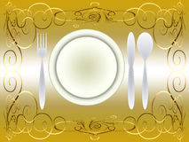 Table place (01) Royalty Free Stock Image
