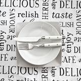 Table place setting Royalty Free Stock Image