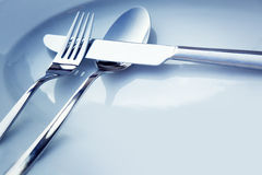 Table place setting Royalty Free Stock Photo