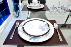 Table place setting Stock Images