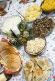Table polonaise de Noël Photo stock