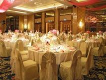 Table réglée Wedding Photo stock