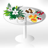 Table raster Stock Images