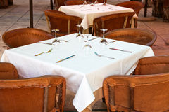 The table is ready Royalty Free Stock Photos