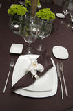 Table ready for a wedding Stock Images