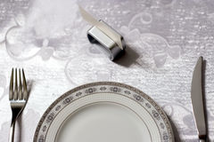 Table reserved Stock Photos