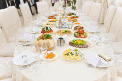 Table at Restaurant Stock Photography