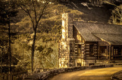 Table Rock Civilian Conservation Corps Building Royalty Free Stock Photography