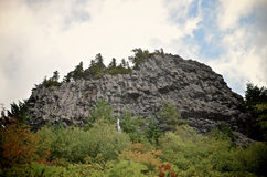 Table Rock Cliff Face. The cliff of face of Table Rock in Oregon Stock Images
