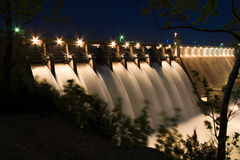 Table Rock Lake Dam royalty free stock photography