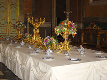 Table royale Photo libre de droits
