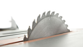 Table Saw Blade Stock Image