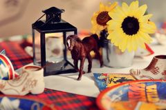 Table scenery Royalty Free Stock Photography