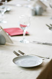 Table served Stock Image