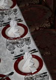 Table served for the Banquet Royalty Free Stock Images