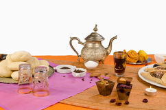 Table served for Ramadan Royalty Free Stock Photo