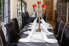 Table servie Photographie stock
