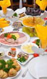 Table servie Photo stock