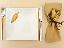 Table serving Royalty Free Stock Photography