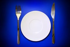 Table serving Royalty Free Stock Photo