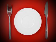 Table serving Royalty Free Stock Photos