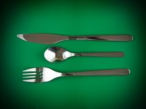 Table serving Royalty Free Stock Image