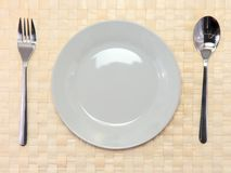 Table serving Stock Photo