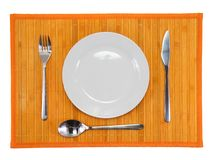 Table serving Stock Images
