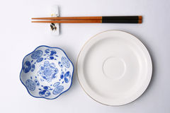 Table set. Chinese table set, Chinese food, a family dinner, gourmet Royalty Free Stock Photos