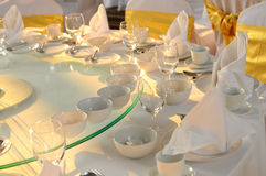 Table set Royalty Free Stock Image