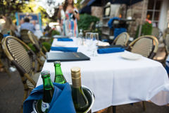 The Table is Set Royalty Free Stock Photography