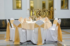 Table set Royalty Free Stock Images