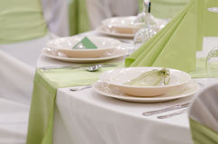 Table set Stock Photography