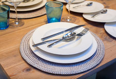Table set Royalty Free Stock Photography