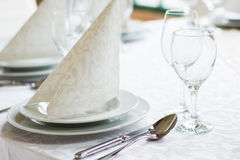 Table set Stock Image