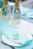 Table set for event party Royalty Free Stock Images