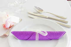 Table set for event Royalty Free Stock Photos