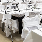 Table set for event Stock Images