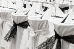 Table set for event Royalty Free Stock Photography