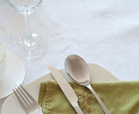 Table set Royalty Free Stock Photos