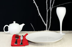 Table Set for One Royalty Free Stock Photography