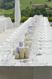Wedding table Stock Photo